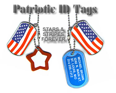 Dog Tags For Your Patriotic Spirit